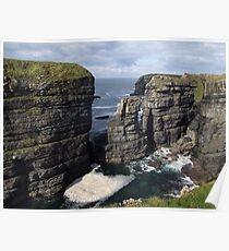 Loop Head Cliffs view Poster