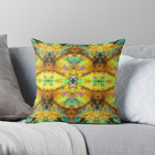 The Magic of Silica Throw Pillow