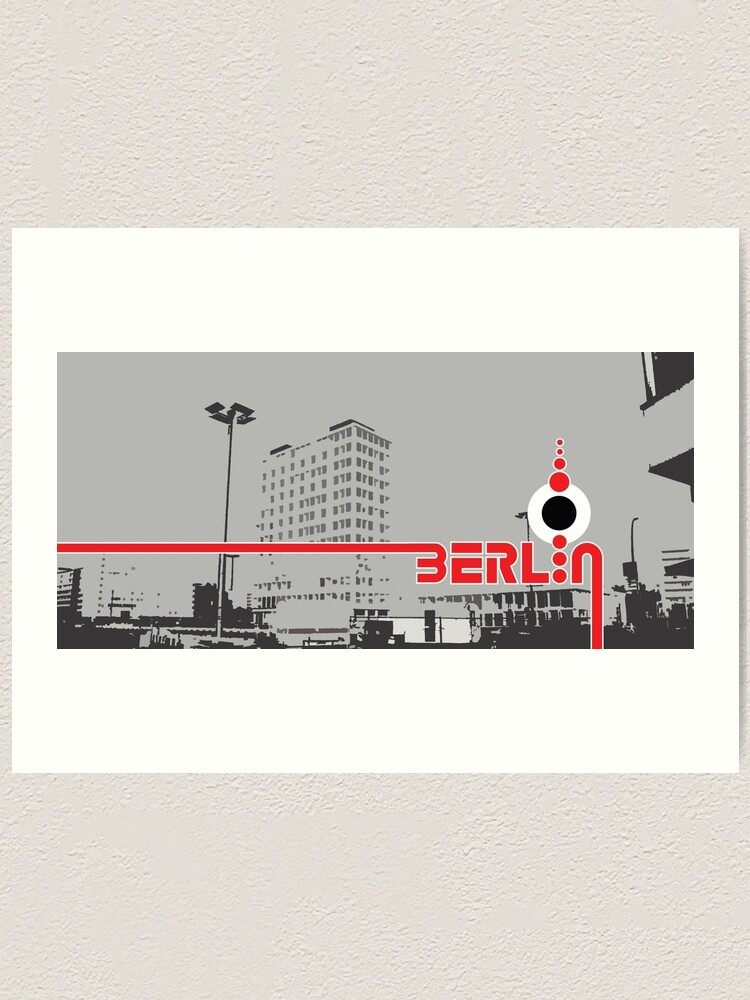 Alternate view of Berlin 101 Art Print