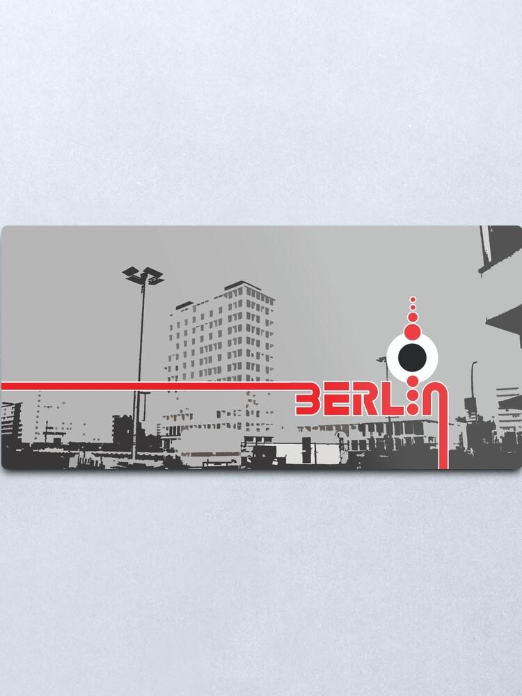 Alternate view of Berlin 101 Metal Print