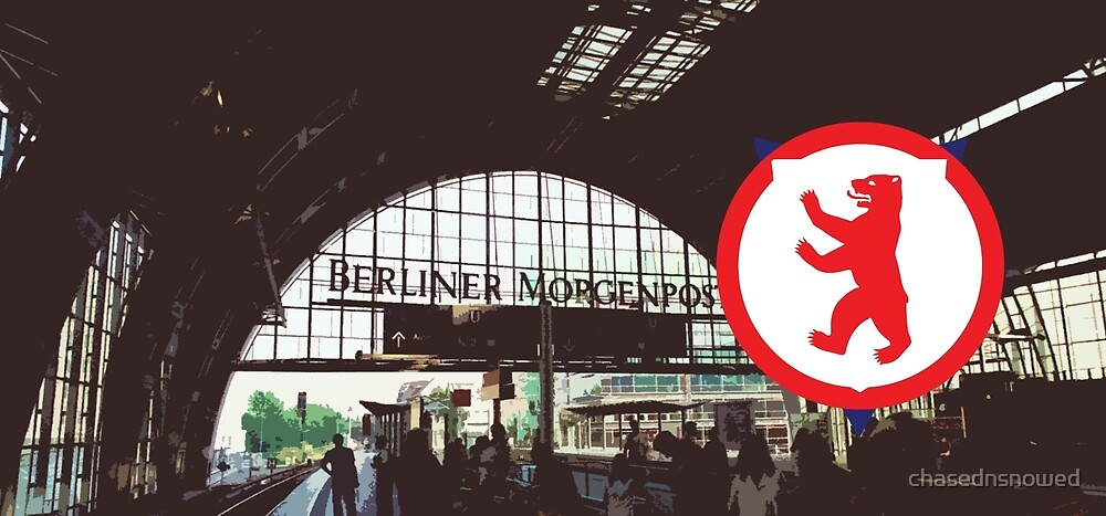 Berlin Bear by chasednsnowed
