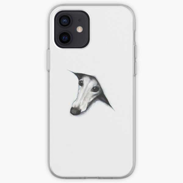 Peeping Whippet iPhone Soft Case