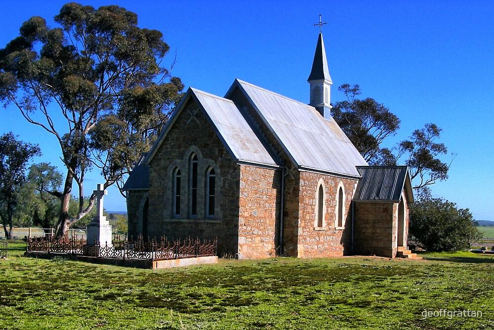 iandra church greenethorpe nsw by geoffgrattan