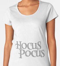 Hocus Pocus, gray Women's Premium T-Shirt