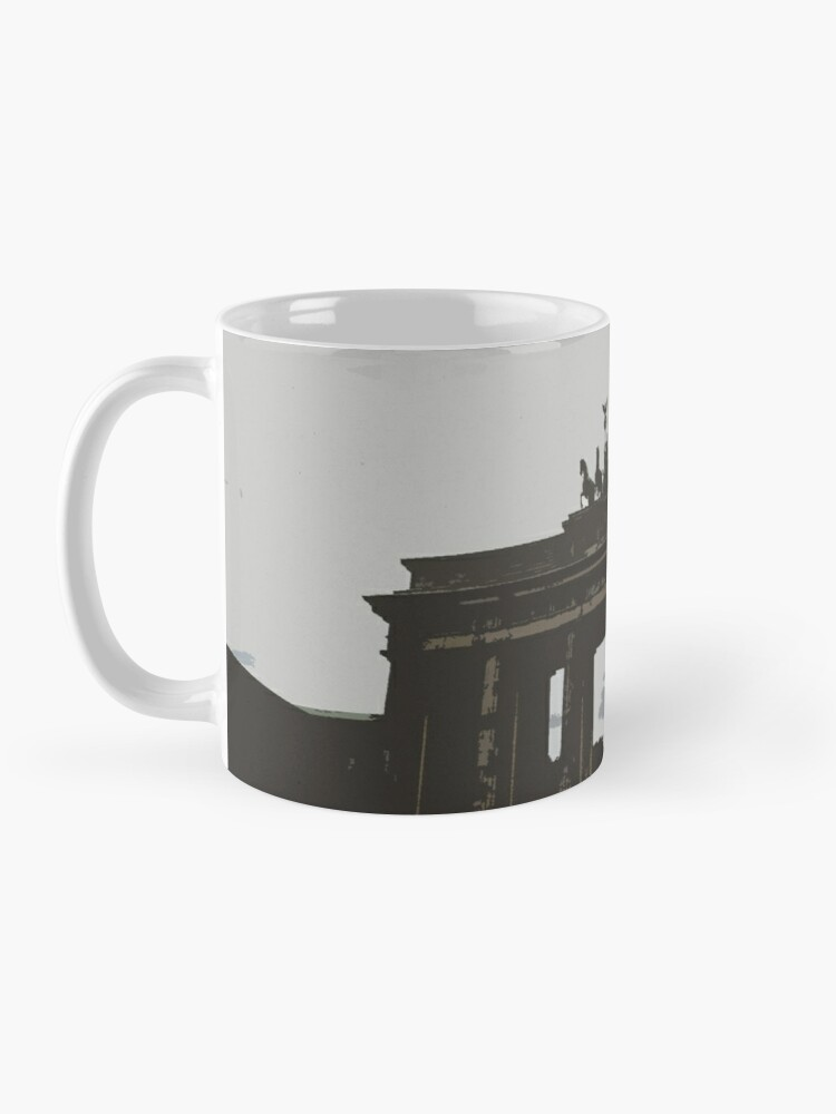 Alternate view of In the Berlin clouds Mug