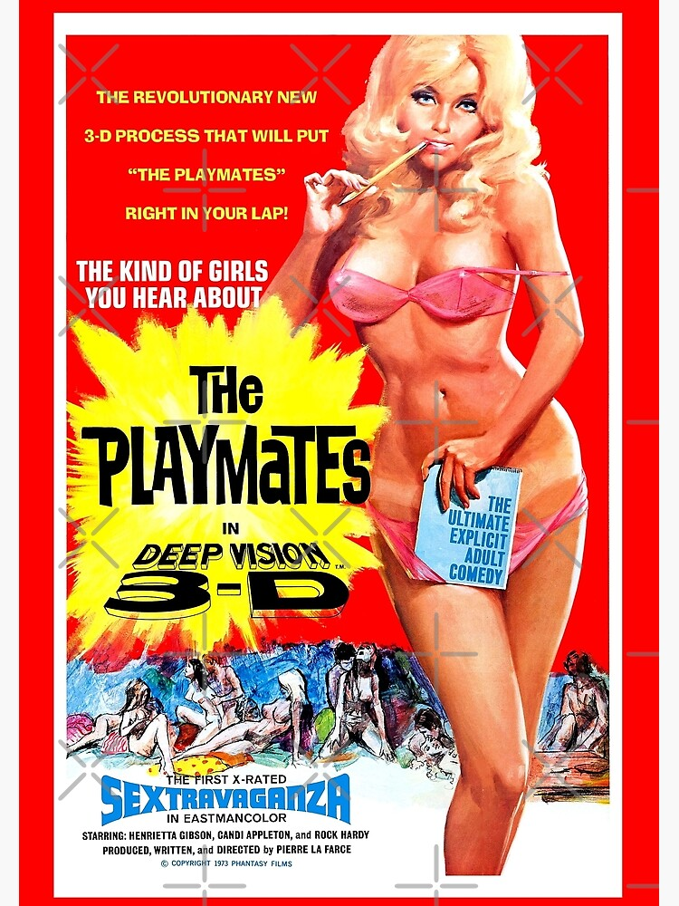 THE PLAYMATES Deep Vision 3D by shnooks