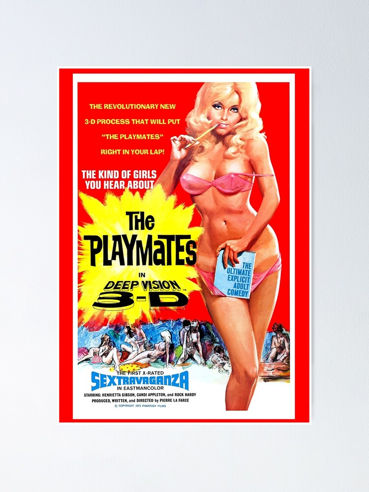 Alternate view of THE PLAYMATES Deep Vision 3D Poster