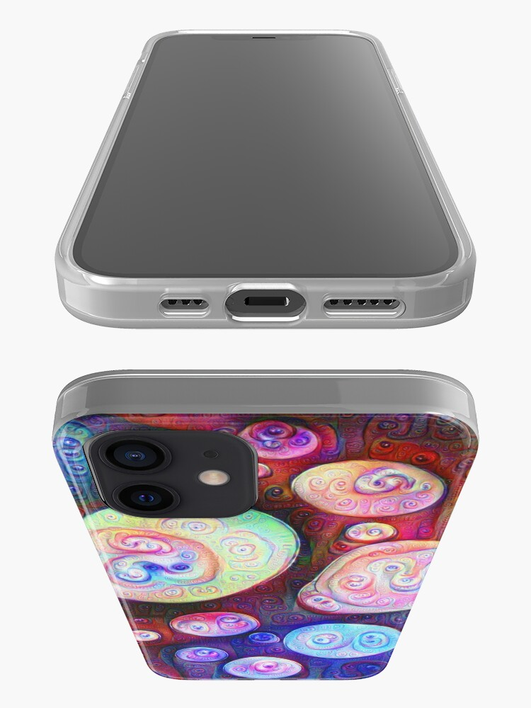 Alternate view of #DeepDream bubbles on frozen lake 5x5K v1450615886 iPhone Case & Cover