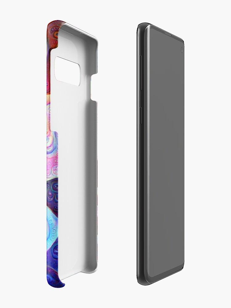 Alternate view of #DeepDream bubbles on frozen lake 5x5K v1450615886 Case & Skin for Samsung Galaxy