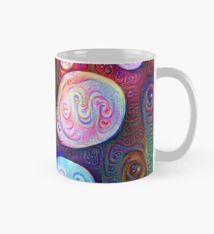 #DeepDream bubbles on frozen lake 5x5K v1450615886 Mug