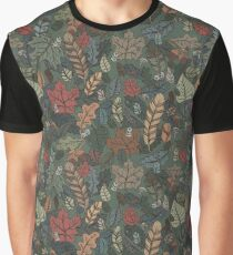 Fall leaves pattern Graphic T-Shirt