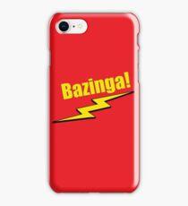 Bazinga! iPhone Case/Skin