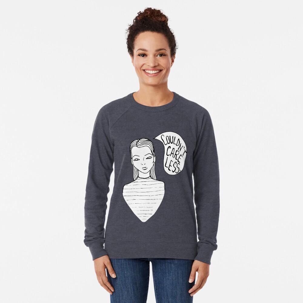 Attitude - Black Lightweight Sweatshirt