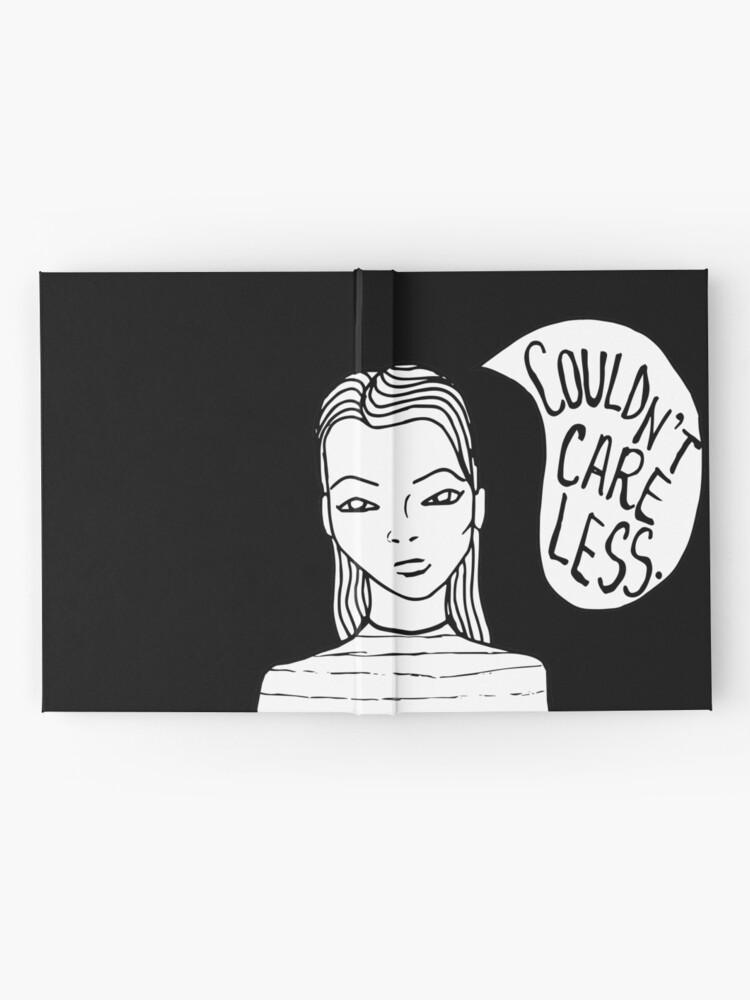 Alternate view of Attitude - Black Hardcover Journal