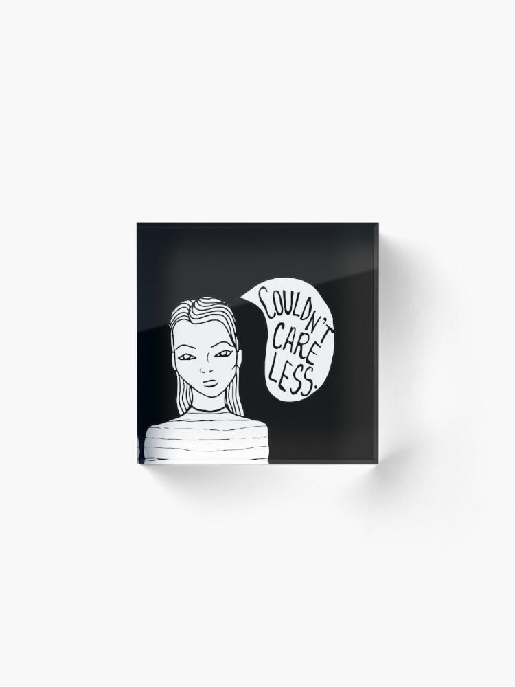 Alternate view of Attitude - Black Acrylic Block