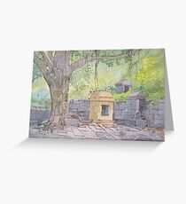 A cool place ! Greeting Card