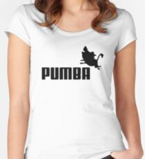 PUM(B)A Women's Fitted Scoop T-Shirt
