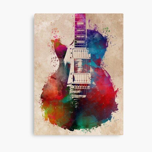 guitar art #guitar  Canvas Print