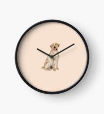Reloj Labrador amarillo
