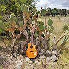 Cactus Guitar by redqueenself