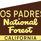 LOS PADRES NATIONAL FOREST CAMPING HIKING by MyHandmadeSigns