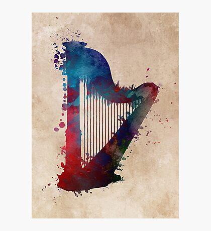 harp art #harp Photographic Print