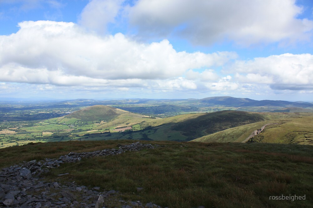 West Cork Mountains by rossbeighed