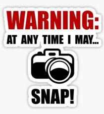 Camera Snap Sticker