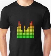 Audio Spectrum Bars T-Shirt