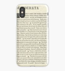 Desiderata Poem on Parchment-Traditional iPhone Case/Skin