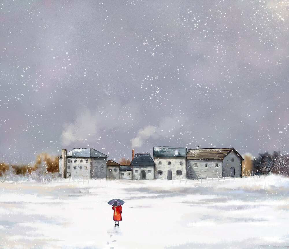 winter by soo kil kim