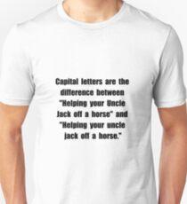 Capital Letters Jack Unisex T-Shirt