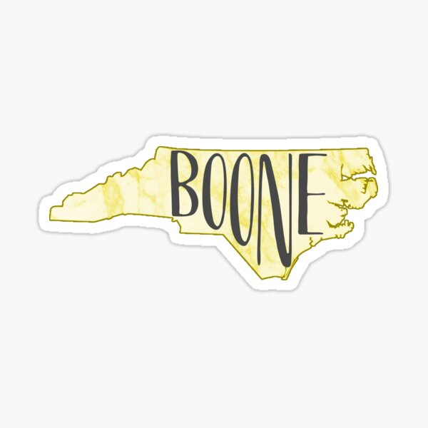 Boone marbled Sticker