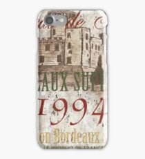 Bordeaux Blanc 2 iPhone Case/Skin