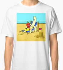 Strawberry And Banana On Vacation Classic T-Shirt