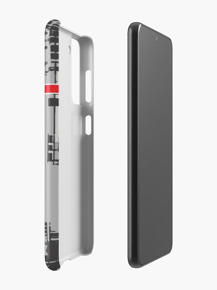 Alternate view of Berlin 101 Case & Skin for Samsung Galaxy