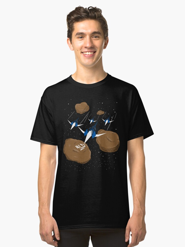 """""""We're Heading Into The Asteroids!"""" - Star Fox  Classic T-Shirt Front"""