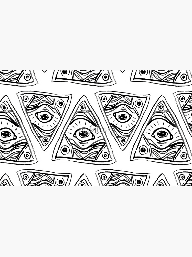 Wobbly Illuminati Eye by nykiway