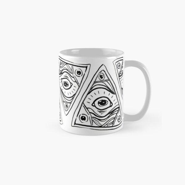 Wobbly Illuminati Eye Classic Mug