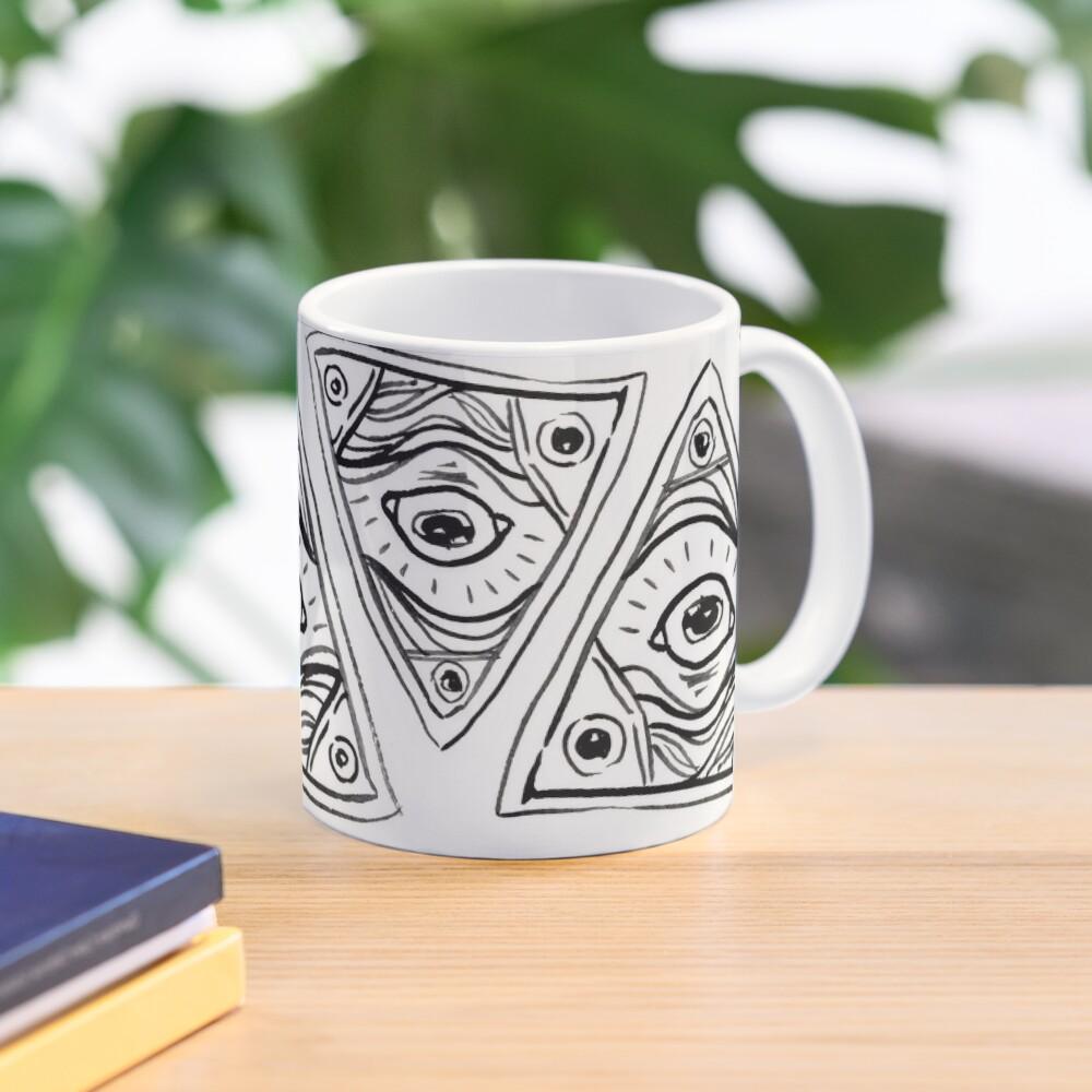 Wobbly Illuminati Eye Mug
