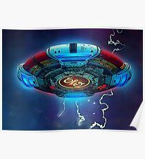 E.L.O. UFO Poster
