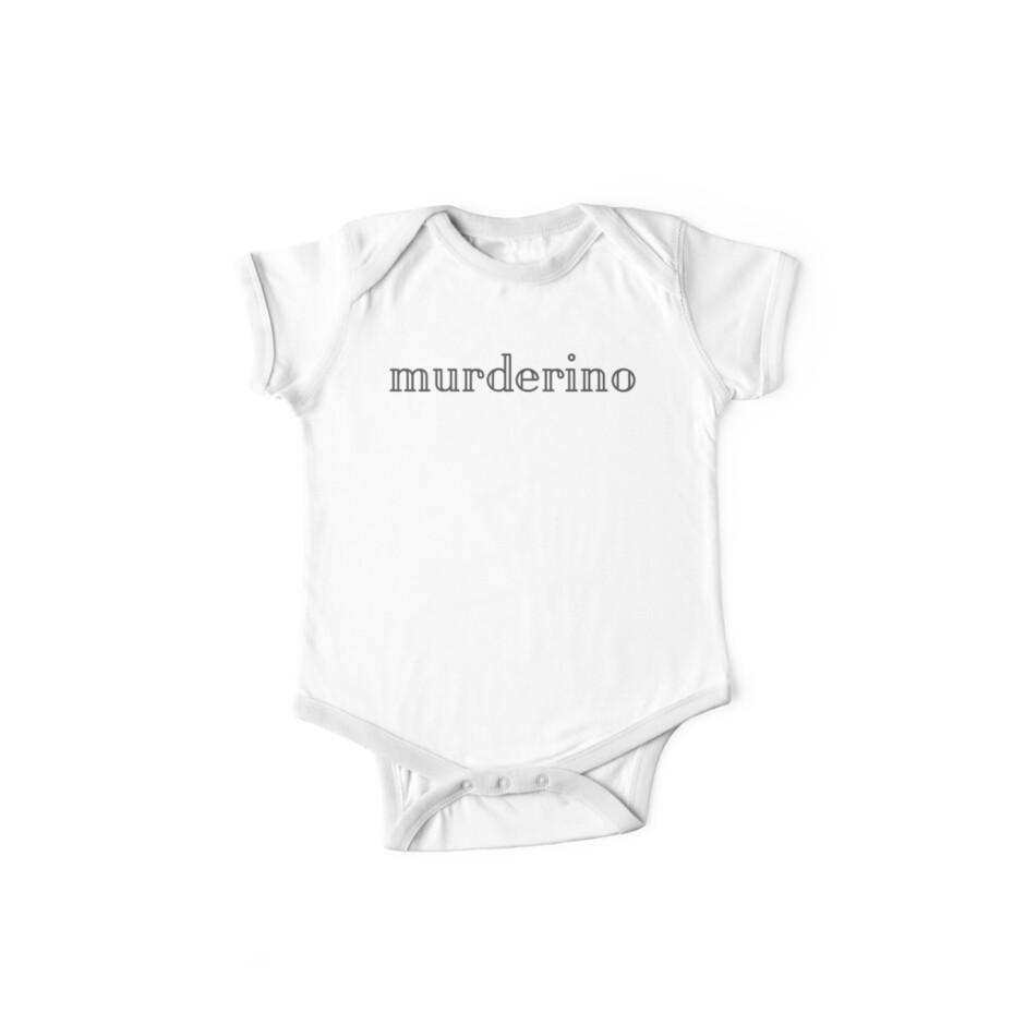 Murderino in Block Text – My Favorite Murder Podcast by heykimberlea