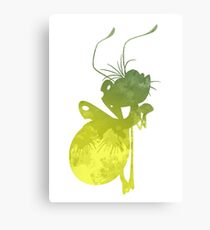 Firefly Inspired Silhouette Canvas Print