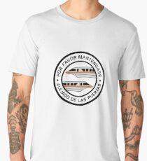 MonorailPorFavorOrange Men's Premium T-Shirt