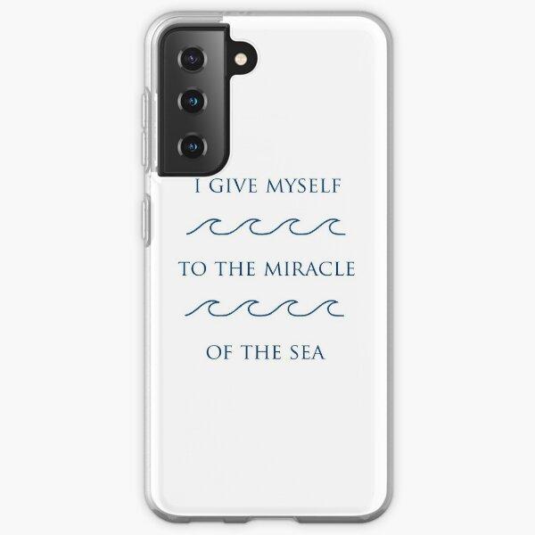 Lunaven - Je me donne au miracle de la mer Coque souple Samsung Galaxy