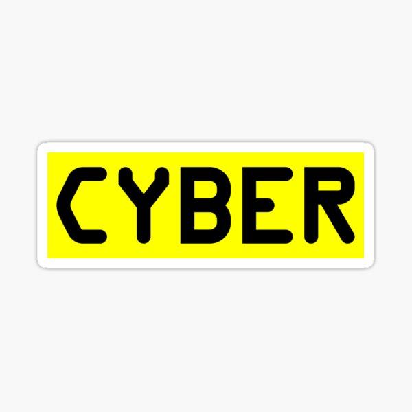 CYBER Sticker