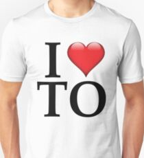 I Love TO (Toronto/Black) T-Shirt