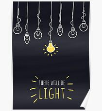 There Will Be Light Poster
