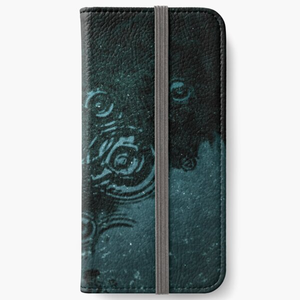 Dark water iPhone Wallet