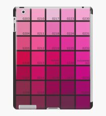 Shades of Pink Pantone iPad Case/Skin